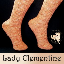 Pattern – Lady Clementine Socks
