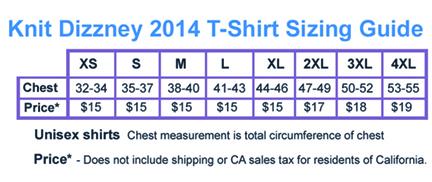 Tshirt Chart-2014sm2