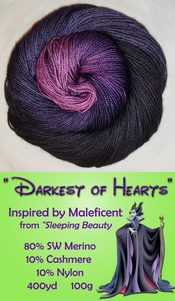 DBS Maleficent Yarn Banner