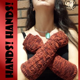 Hands!  Hands! Fingerless Mitts